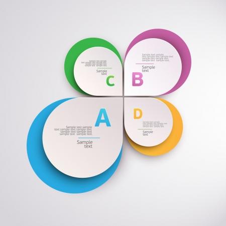 Design colorful circle  Vector