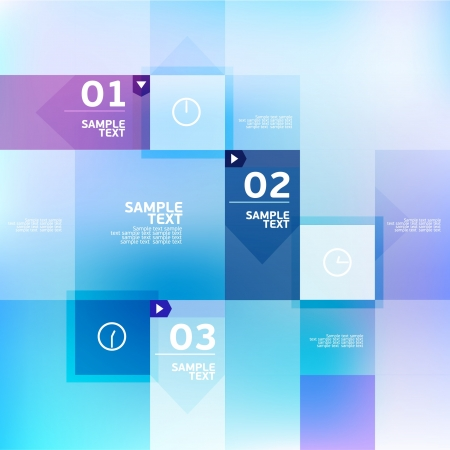 Modern blue design Vector