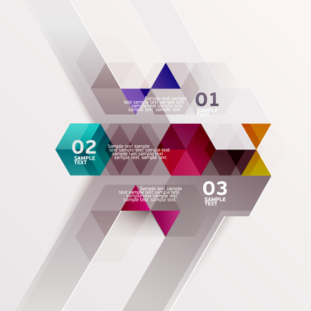 Modern colorful design Vector