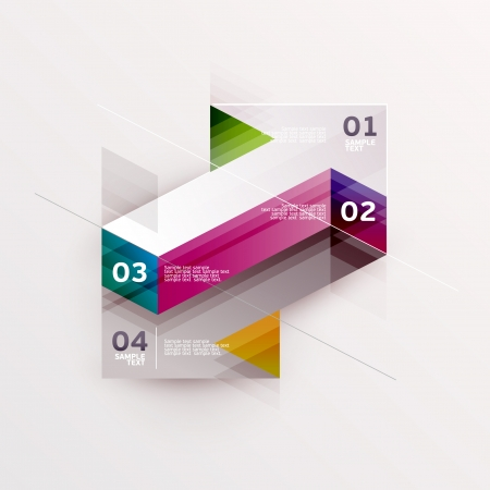 direction: Colorful arrows