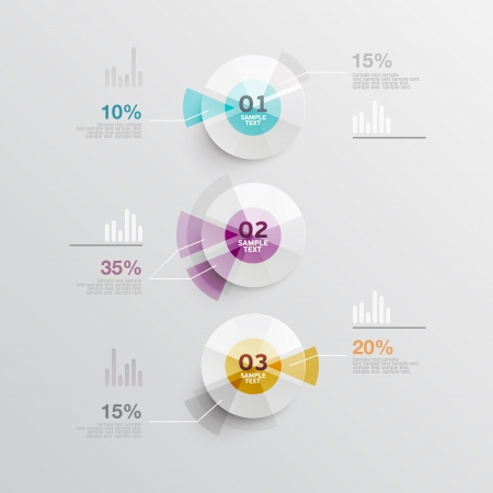 web icons: Elements of infographics
