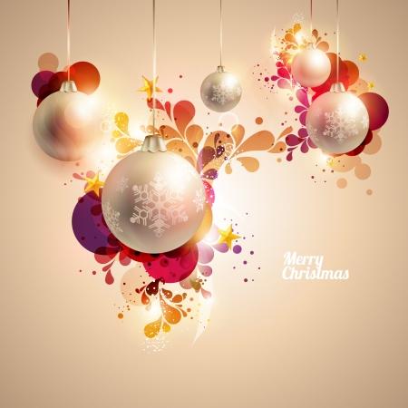 Hintergrund Weihnachten Standard-Bild - 23284982
