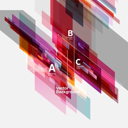 pink cell: Fondo de la abstracci�n moderna Vectores