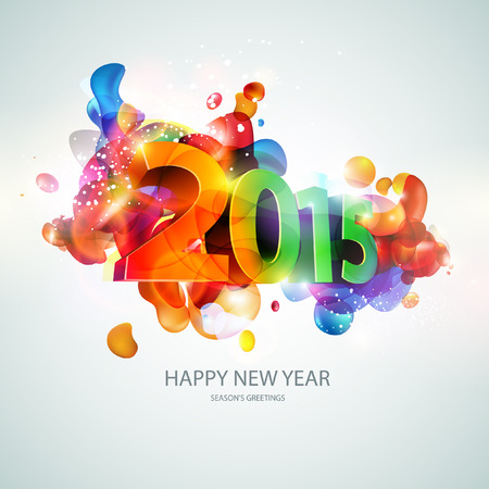 New year 2015 Vector