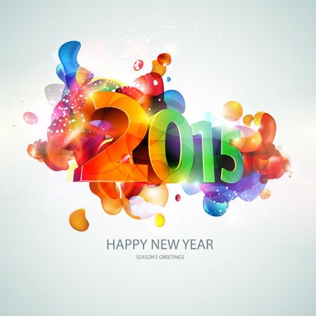auguri di buon compleanno: Nuovo anno 2015