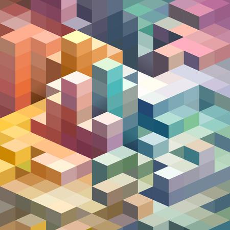forme: Contexte abstrait de formes géométriques Illustration