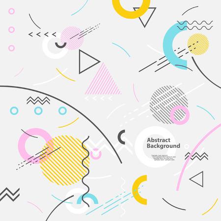 Abstract modern geometrischen Hintergrund Standard-Bild - 48825439
