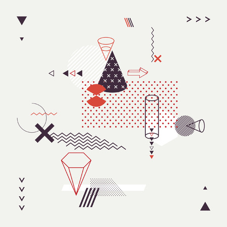 perspectiva lineal: Fondo geom�trico moderno abstracto