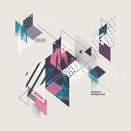 Abstract geometrica moderna Archivio Fotografico - 58418377