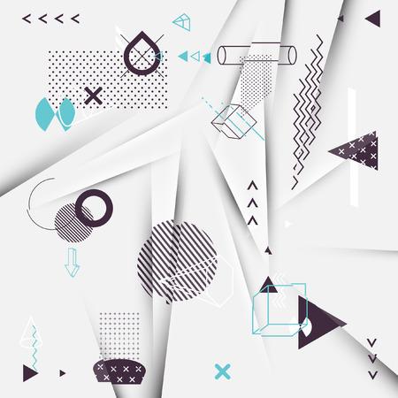 perspectiva lineal: Resumen de antecedentes de los elementos geom�tricos Vectores