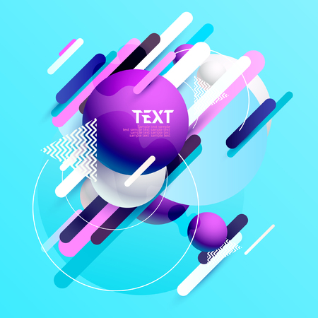 Dynamic abstract background