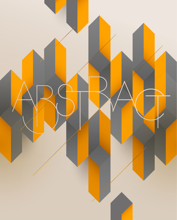 Abstract vintage retro background Ilustrace