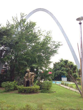 jose: Dr. Jose Rizal at Malabon City Park.