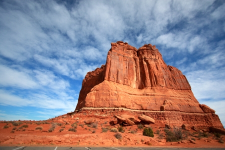 Tower of Babel at Arches National Park, Utah photo