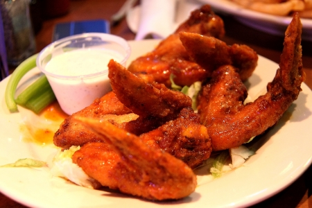 Cajun Chicken Wings, New Orleans, LA photo