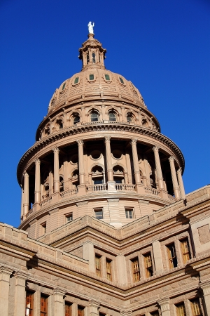The Texas State Capitol Building in downtown Austin, Texas