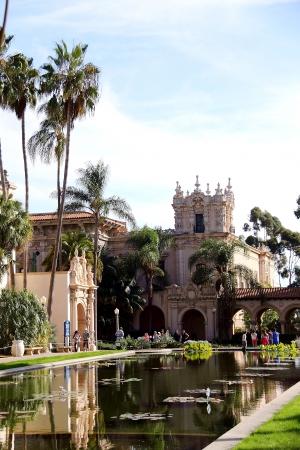 cid: The Balboa Building in Balboa Park, San Diego, CA  Stock Photo