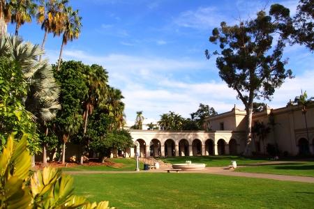 diego: Balboa Park, San Diego, CA  Stock Photo