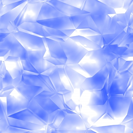 Seamless crystal texture (computer graphic, big collection) photo