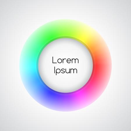 3d icono arco iris