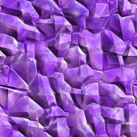 Seamless crystal texture  computer graphic, big collection Stock Photo - 18712657