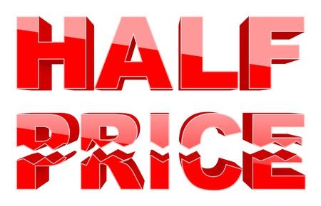 low prices: Half price 3d