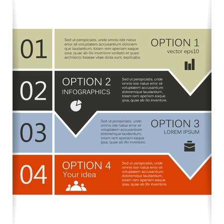 Template for your business presentation  big collection  Vector