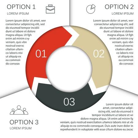 kreis: Vorlage f�r Ihre Business-Pr�sentation Riesenauswahl