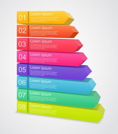 sept: mod�le de projet d'affaires avec des fl�ches et des zones de texte