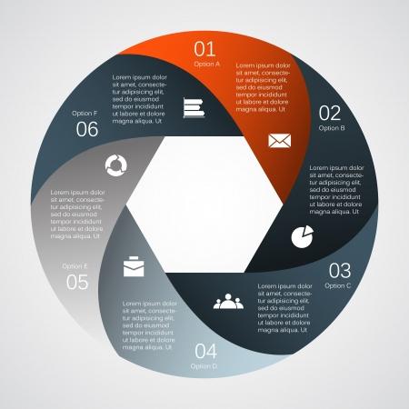 circulaire: Mod�le pour votre entreprise pr�sentation grande collection