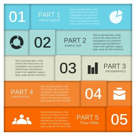 esquemas: Plantilla para su negocio infograf?a presentaci?n