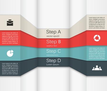 jerarquia: Plantilla para su negocio infograf�a presentaci�n