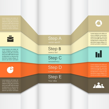 Template for your business presentation  infographic