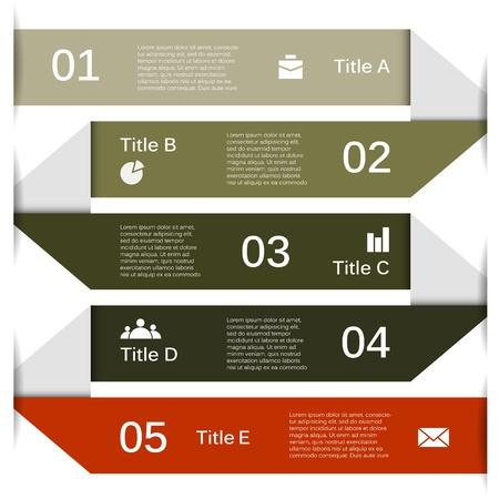 jerarquia: Plantilla para su negocio infograf?a presentaci?n