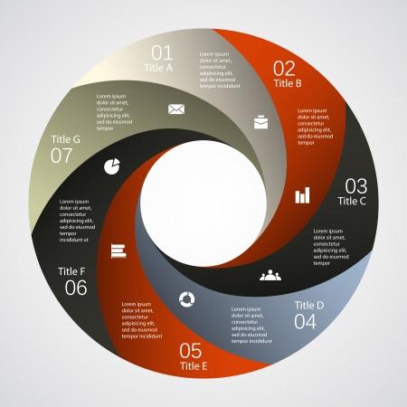 あなたのビジネスのプレゼンテーションのインフォ グラフィック用のテンプレート