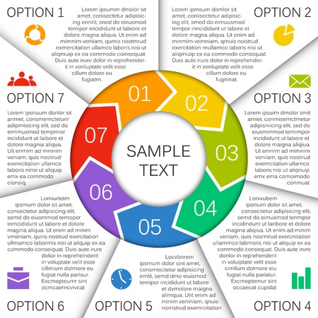 options: Layout for your options. Can be used for info graphic.