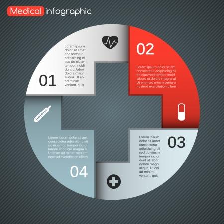 iconos medicos: Disposici�n para sus opciones. Puede ser utilizado para obtener informaci�n gr�fica.