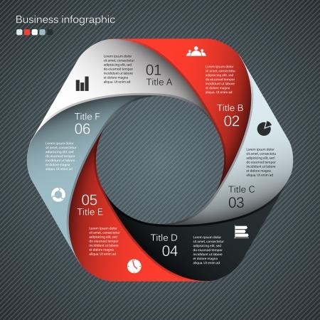 business backgrounds: Layout per le vostre opzioni. Pu� essere utilizzato per le informazioni grafiche. Vettoriali