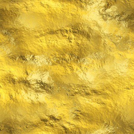 foil: Seamless gold texture Stock Photo