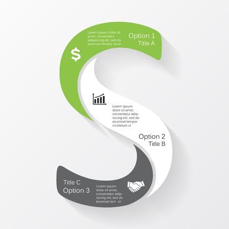 Vector business infographic, diagram, presentation Vector