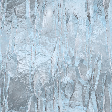 Seamless ice texture, winter background Imagens