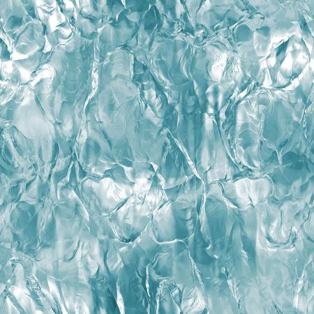 シームレスな氷のテクスチャ、冬の背景