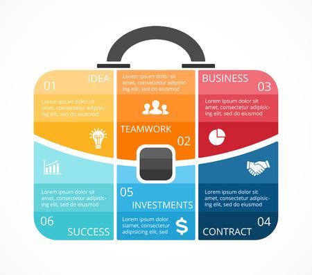 logotipo turismo: Disposición para sus opciones o pasos. Resumen plantilla para el fondo.