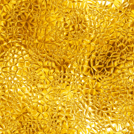 Seamless gold texture, computer graphic, big collection Imagens