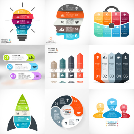 Layout for your options or steps. Abstract template for background. Stok Fotoğraf - 43371581