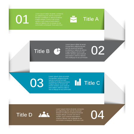 brochure template: Layout for your options or steps. Abstract template for background.