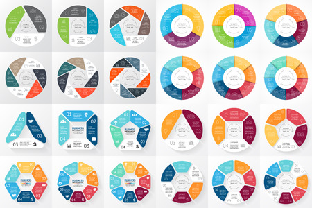 Layout for your options or steps. Abstract template for background. Banco de Imagens - 55084789