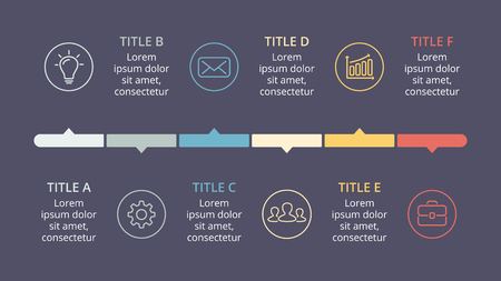 Vector circle arrows timeline infographic, cycle diagram, graph, presentation chart.