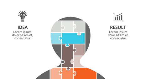 Brain infographic template for human head diagram knowledge brain infographic template for human head diagram knowledge graph neural network presentation and ccuart Gallery