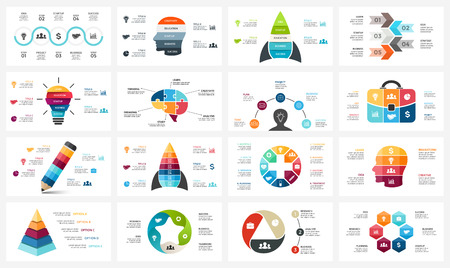 A Vector circle arrows infographic, cycle diagram, business graph, presentation chart. Ilustrace